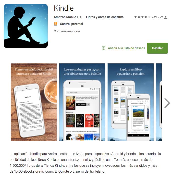 La Prosperidad en Android Store